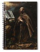 St Peter Of Alcantara Spiral Notebook
