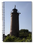 St. Peter-ording Lighthouse - North Sea - Germany Spiral Notebook