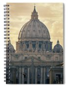 St Peter's Afternoon Glow Spiral Notebook