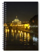 St Peters At Night Spiral Notebook