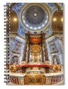 St Peter's Basilica Spiral Notebook