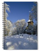 St Peter's Church In The Snow Spiral Notebook