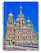 St Petersburg Church Spiral Notebook