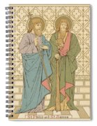 St Philip And St James Spiral Notebook