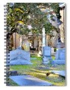 St. Philips Church Cemetery Charleston Sc Spiral Notebook