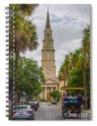 St. Philip's Episcopal Church Charleston Sc Spiral Notebook