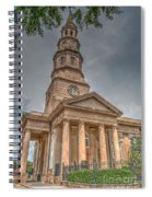 St. Philip's Episcopal Church In Charleston Spiral Notebook