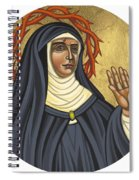 St. Rita Of Cascia Patroness Of The Impossible 206 Spiral Notebook