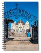 St Roch's Cemetery Spiral Notebook
