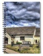 St Sannans Church Bedwellty 3 Spiral Notebook