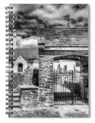St Sannans Church Bedwellty 4 Mono Spiral Notebook