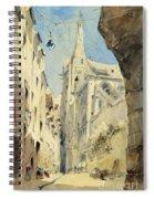 St. Severin Paris Spiral Notebook