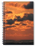 St Simons And Sea Island Sunrise Spiral Notebook