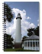 St. Simon's Island Georgia Lighthouse Spiral Notebook