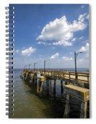 St. Simon's Island Georgia Pier Spiral Notebook