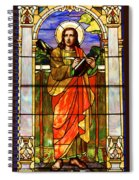 St. Stan's Stained Glass Spiral Notebook