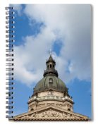St. Stephen's Basilica Dome And Bell Towers Spiral Notebook