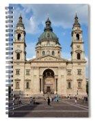 St. Stephen's Basilica In Budapest Spiral Notebook