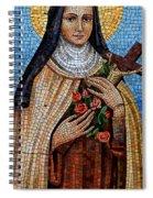 St. Theresa Mosaic Spiral Notebook