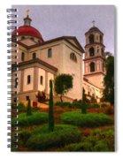 St. Thomas Aquinas Church Large Canvas Art, Canvas Print, Large Art, Large Wall Decor, Home Decor Spiral Notebook