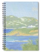 St. Thomas From Water Island Spiral Notebook