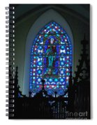 St Thomas Stained Glass Spiral Notebook