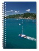 St Thomas Usvi Spiral Notebook