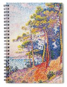 St Tropez The Custom's Path Spiral Notebook