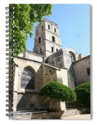 St Trophimus Courtyard Spiral Notebook
