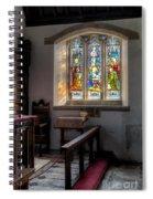 St Tysilio Window  Spiral Notebook