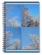 St. Valentine's Day Snowstorm Spiral Notebook