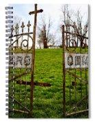 St. Xaviers Cemetery Spiral Notebook