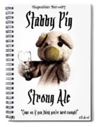 Stabby Pig Strong Ale Spiral Notebook