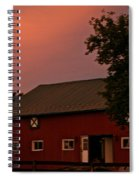 Stable Barn Spiral Notebook
