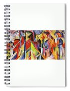 Stables 1913 Spiral Notebook
