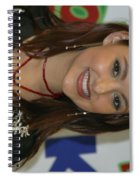 Singer Stacie Orrico Spiral Notebook