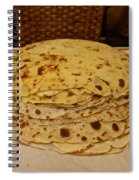 Stack Of Lefse Rounds Spiral Notebook