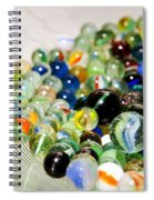 Stack Of Marbles Spiral Notebook