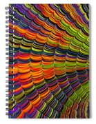 Stacked Colors Spiral Notebook