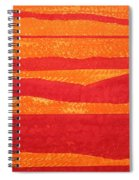 Stacked Landscapes Original Painting Spiral Notebook