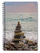 Stacking Stones Spiral Notebook