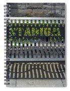Stadium Bench Spiral Notebook