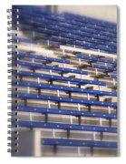 Stadium Stalls Spiral Notebook