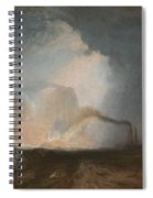 Staffa - Fingal's Cave Spiral Notebook