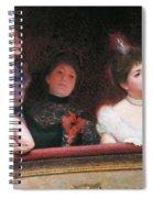 Stage Or Au Theatre Spiral Notebook