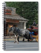 Stage Stop Spiral Notebook