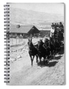Stagecoach, C Spiral Notebook