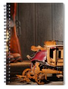 Stagecoach Dream Spiral Notebook