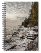 Staggering Shores Spiral Notebook