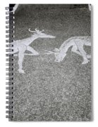 Stags Spiral Notebook